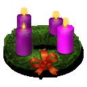 Advent Wreath Emoticon