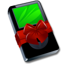 Ipod Black Gift Emoticon