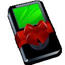 Ipod Black Gift Emoticon
