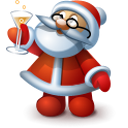 Santa 5 Emoticon
