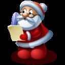 Santa 4 Emoticon