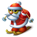 Santa 2 Emoticon