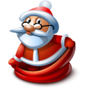 Santa 1 Emoticon