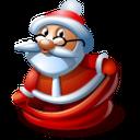Santa 1 Emoticon