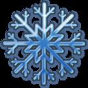 Blue Snow Emoticon