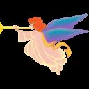 Xmas Angel Emoticon