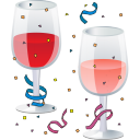 New Year Party Emoticon