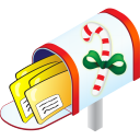 Christmas Mailbox Emoticon