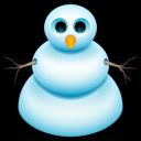 Snow Man Emoticon