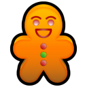 Gingerbread Emoticon