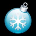Christmas Ball 2 Emoticon