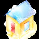 Xmas House Emoticon