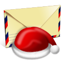 Santa Letter Emoticon