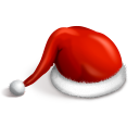 Santa Cap Emoticon