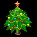 New Year Tree Emoticon