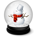 Christmas Snowman Emoticon