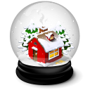 Christmas House Emoticon