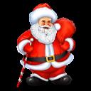 Santa Emoticon