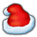 Santas Hat Emoticon