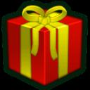 Present Red Emoticon