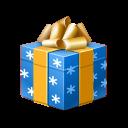 Presentblue Emoticon