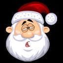 Tired SantaClaus Emoticon