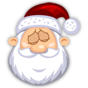 Sleeping SantaClaus Emoticon