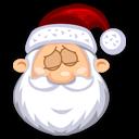 Sleeping SantaClaus Emoticon