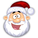 Happy SantaClaus Emoticon