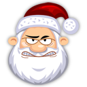 Angry SantaClaus Emoticon