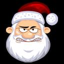 Angry Santaclaus Emoticon