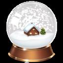 Snowglobe Emoticon