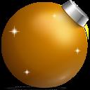 Golden Ball Emoticon