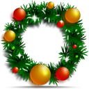 Christmas Wreath Emoticon