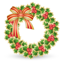Xmas Wreath Emoticon