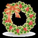 Xmas Wreath Emoticon