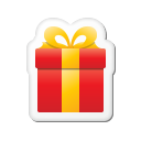 Xmas Sticker Gift Emoticon