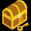 Treasure Chest Emoticon