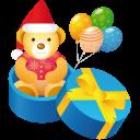 Teddy Gift Emoticon