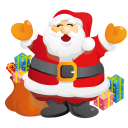 Santa Gifts Emoticon