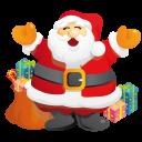 Santa Gifts Emoticon