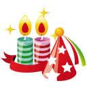 Party Hat Candles Emoticon