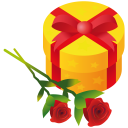 Gift Rose Emoticon
