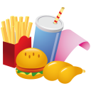 Fast Food Emoticon