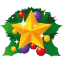 Christmas Star Emoticon
