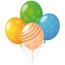 Balloons Emoticon