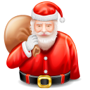 Santa Claus Emoticon