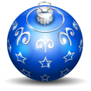 Christmas Tree Ball 3 Emoticon