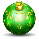 Christmas Tree Ball 2 Emoticon