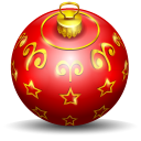 Christmas Tree Ball Emoticon
